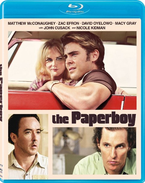 The Paperboy was released on Blu-ray and DVD on January 22, 2012