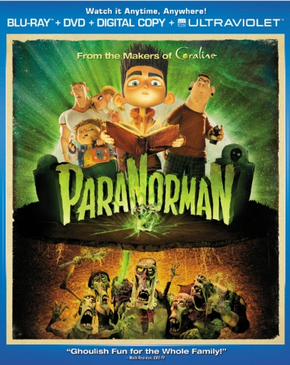 ParaNorman was released on Blu-ray and DVD on November 27, 2012