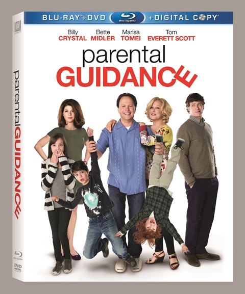 Parental Guidance was released on Blu-ray and DVD on March 26, 2013