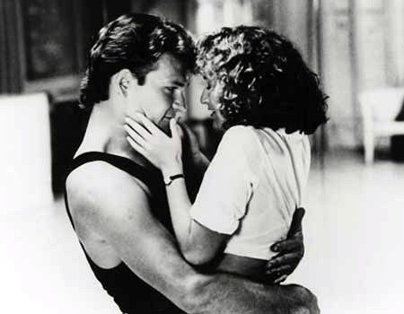 Patrick Swayze in 1987's Dirty Dancing