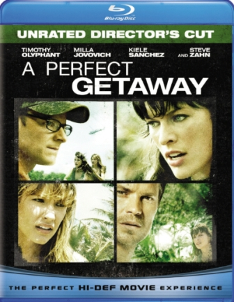 A Perfect Getaway was released on Blu-Ray and DVD on December 29th, 2009.