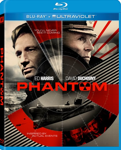 Phantom was released on Blu-ray and DVD on June 25, 2013