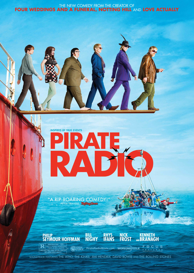 Pirate Radio was released on Blu-Ray and DVD on April 13th, 2010.
