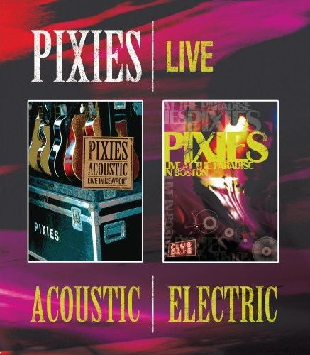 The Pixies: Acoustic and Electric was released on Blu-ray on August 24th, 2010.