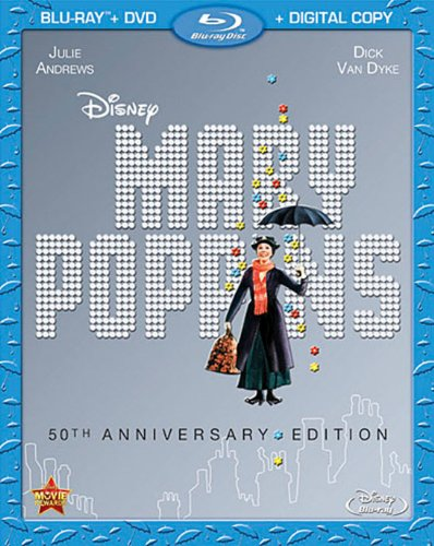 Mary Poppins was released on Blu-ray on December 10, 2013
