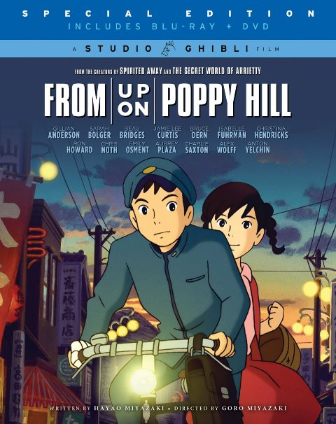 From Up on Poppy Hill was released on Blu-ray and DVD on September 3, 2013