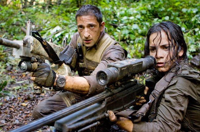 Adrien Brody and Alice Braga in Predators