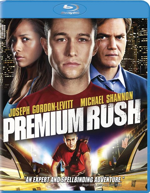 Premium Rush was released on Blu-ray and DVD on December 21, 2012