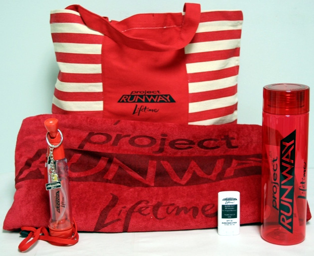 The HollywoodChicago.com prize pack for season eight of Project Runway