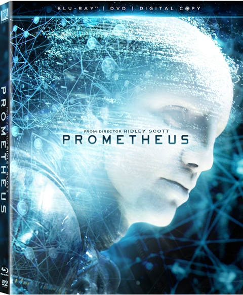 Prometheus was released on Blu-ray and DVD on October 9, 2012