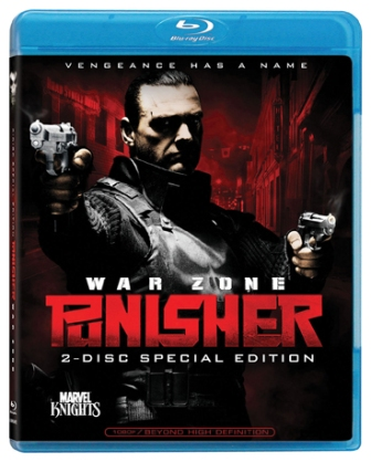 Punisher: War Zone was released on Blu-Ray on March 17th, 2009.