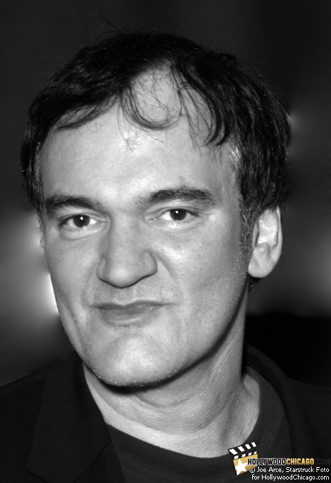 Quentin Tarantino in Chicago for Inglourious Basterds