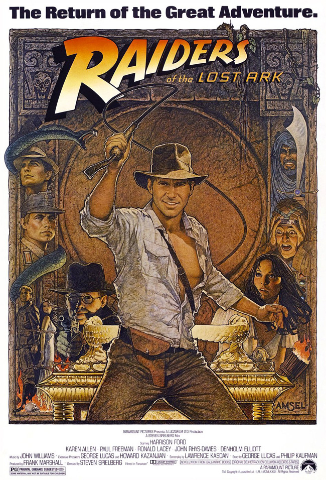 The digitally restored Raiders of the Lost Ark opens at Chicago's Music Box Theatre on Nov. 18, 2011