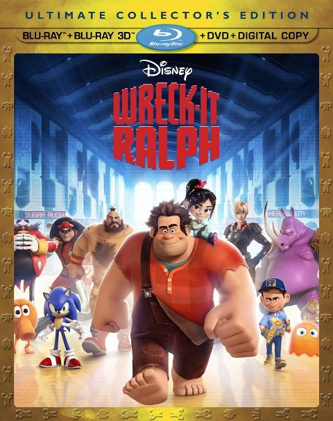 Wreck-It Ralph was released on Blu-ray and DVD on March 5, 2013