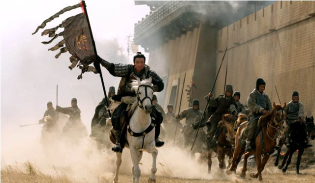 Tony Leung reunites with director John Woo in the action-packed epic Red Cliff.