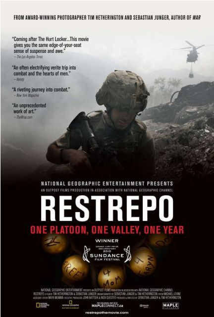 Restrepo was released on DVD on December 7th, 2010