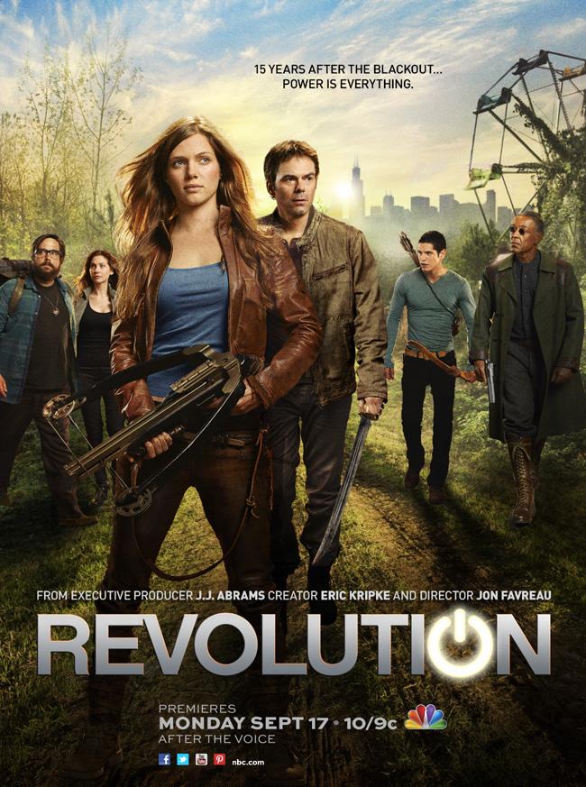 NBC's Revolution pilot premieres on Sept. 17, 2012 at 9 p.m. CST following The Voice