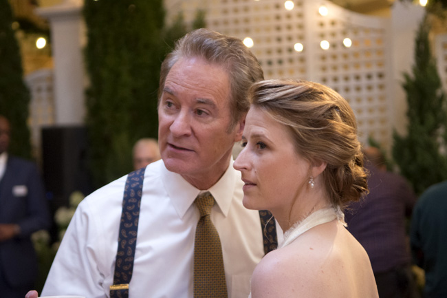 Kevin Kline and Mamie Gummer in Ricki and the Flash
