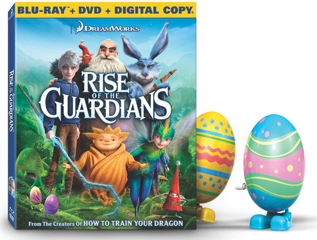Rise of the Guardians with Hugh Jackman and Alec Baldwin is available in stores now on Blu-ray and DVD