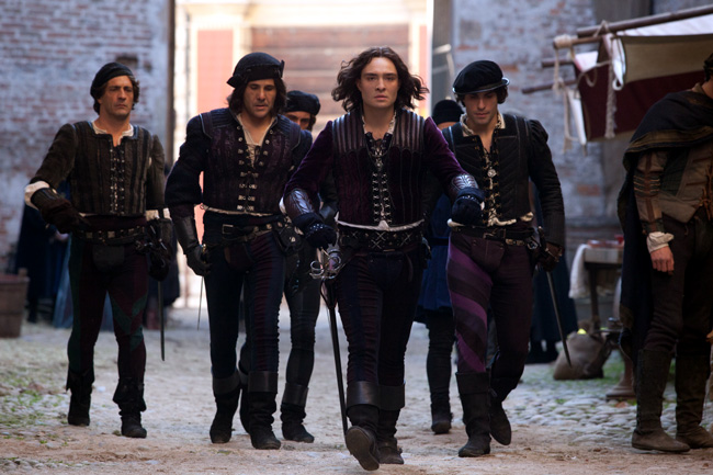 Ed Westwick stars as Tybalt in Romeo and Juliet