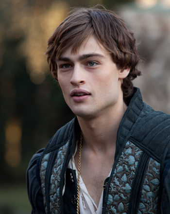 Douglas Booth stars in Romeo and Juliet