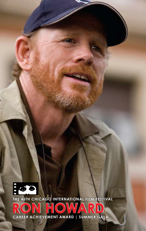 Ron Howard at the Chicago International Film Festival