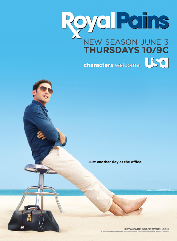 Season two of USA Network's Royal Pains