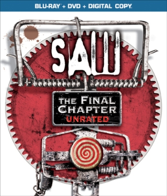 Saw: The Final Chapter was released on Blu-Ray and DVD on January 25th, 2011