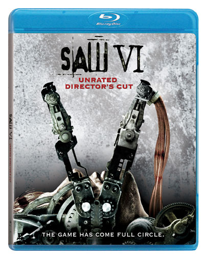 Saw VI was released on Blu-ray and DVD