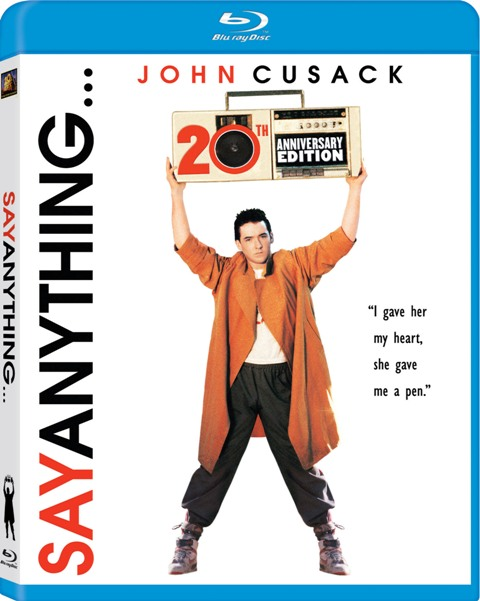 Say Anything... was released on Blu-Ray and DVD on November 3rd, 2009.