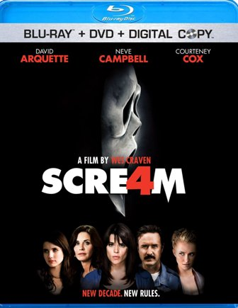 Scre4m was released on Blu-ray and DVD on October 4th, 2011