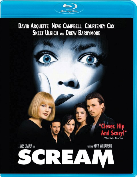 Scream was released on Blu-Ray on March 29th, 2011