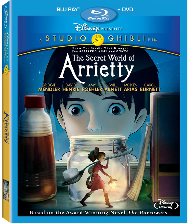 The Secret World of Arrietty comes to Disney Blu-ray and DVD on May 22, 2012