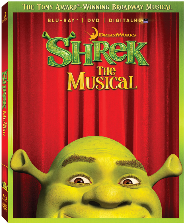 Shrek the Musical will be released on Blu-ray and DVD combo pack on Oct. 15, 2013