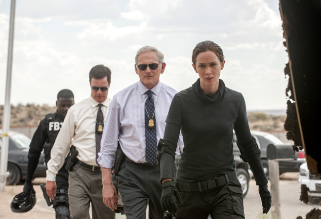 Emily Blunt and Victor Garber in Sicario