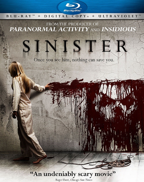 Sinister was released on Blu-ray and DVD on February 19, 2013