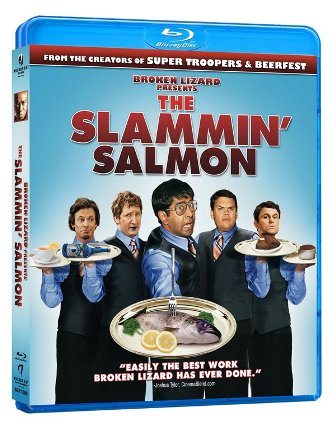 The Slammin' Salmon was released on DVD and Blu-Ray on April 13th, 2010.