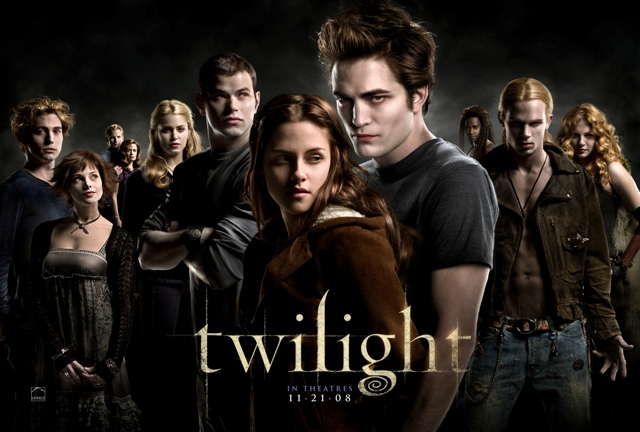 Twilight from director Catherine Hardwicke stars Kristen Stewart as Bella Swan and Robert Pattinson as Edward Cullen