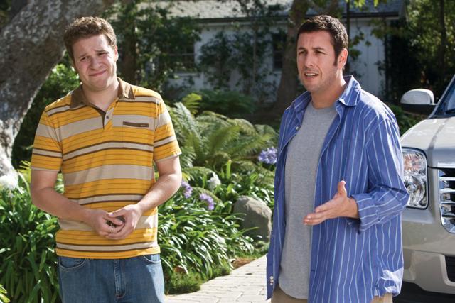 (L to R) Ira (Seth Rogen) and George (Adam Sandler).