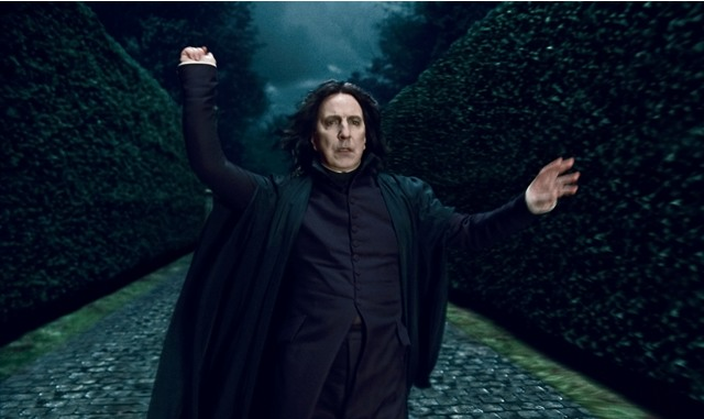 Alan Rickman as Professor Severus Snape in Harry Potter and the Deathly Hallows: Part 1