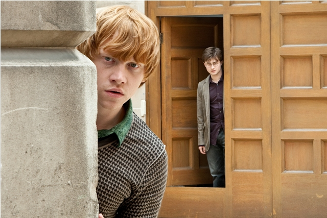 Rupert Grint (left) and Daniel Radcliff in Harry Potter and the Deathly Hallows: Part 1