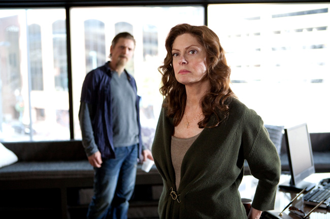 Susan Sarandon and Barry Pepper star in Snitch