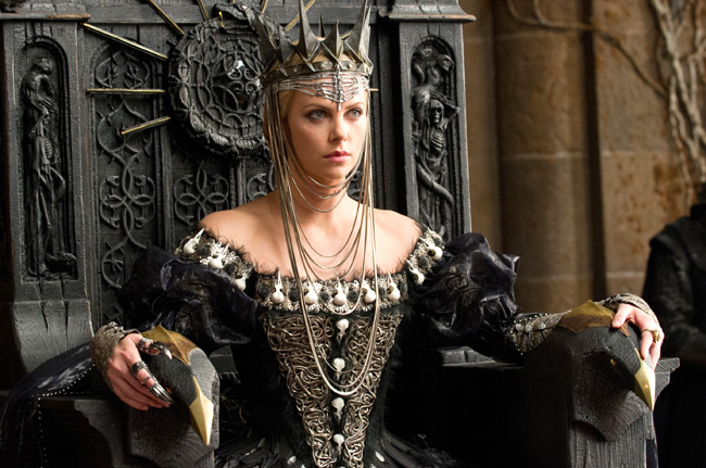Charlize Theron as The Queen in Snow White and the Huntsman