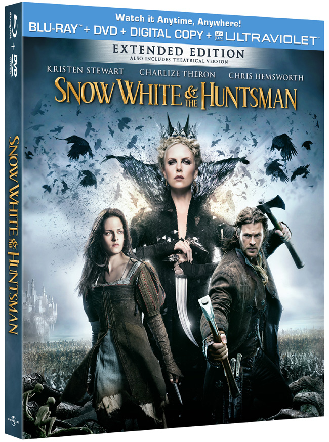Snow White and the Huntsman came to Blu-ray and DVD on Sept. 11, 2012