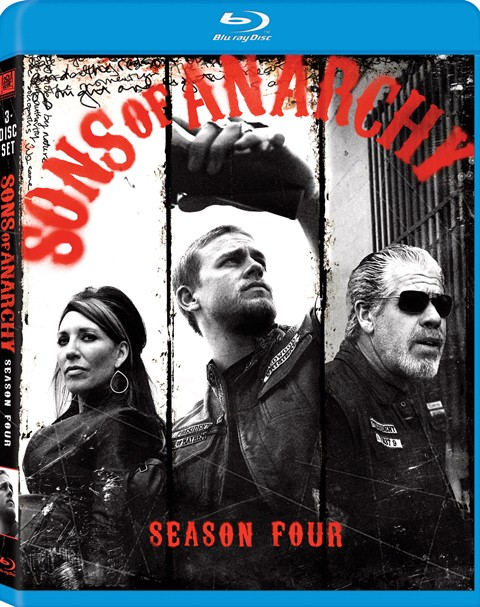 Sons of Anarchy: Season Four was released on Blu-ray and DVD on August 28, 2012