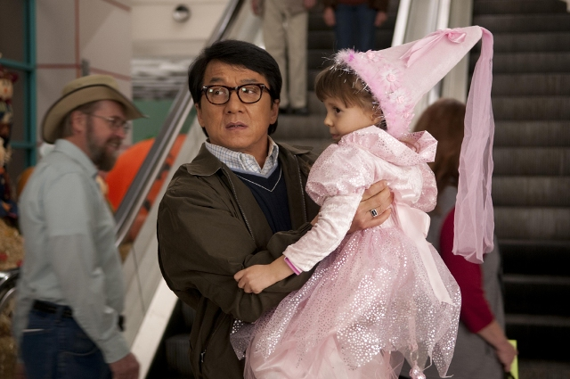 Jackie Chan and Alina Foley star in Brain Levant's The Spy Next Door.