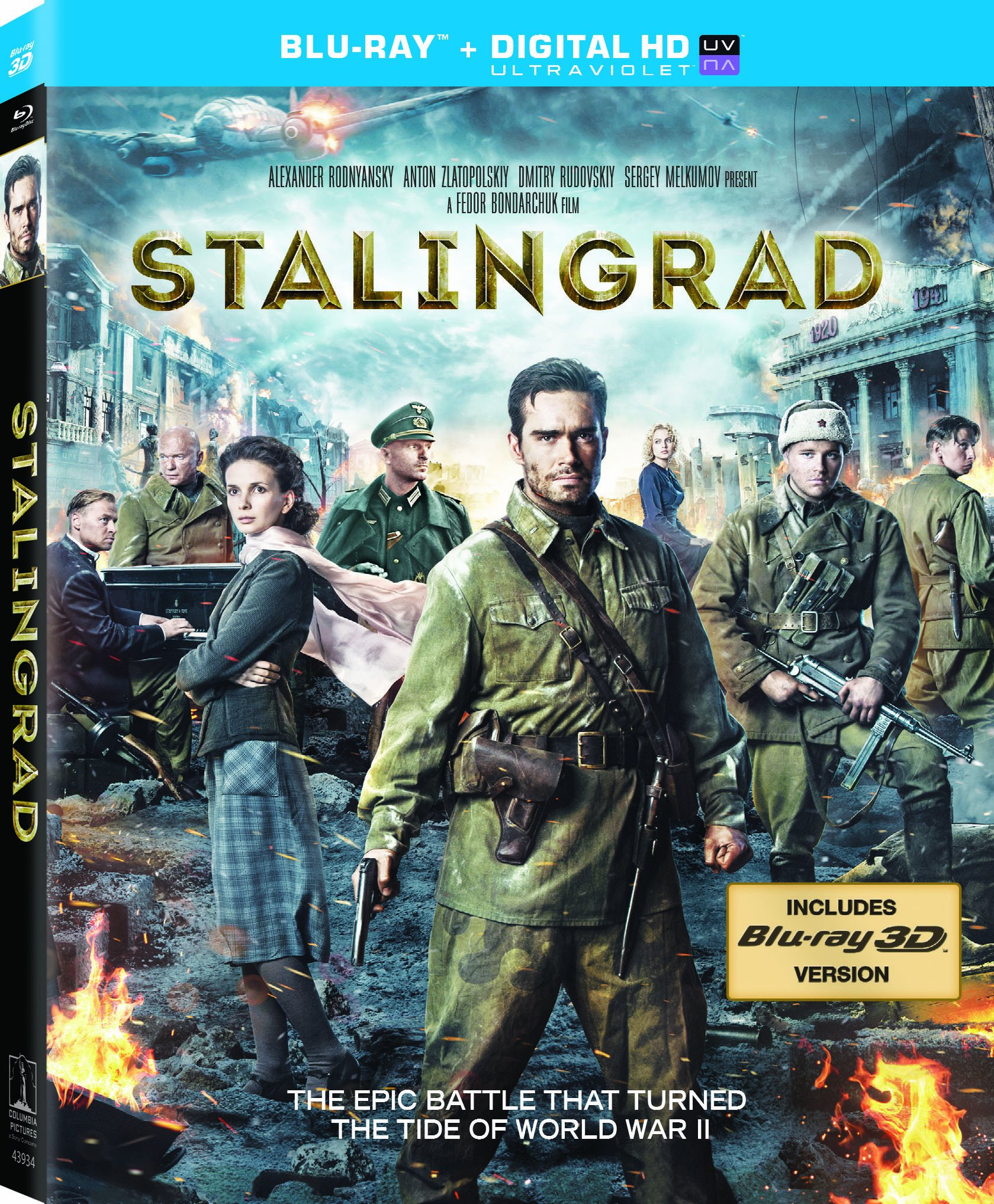 Stalingrad was released on Sony Blu-ray on May 13, 2014