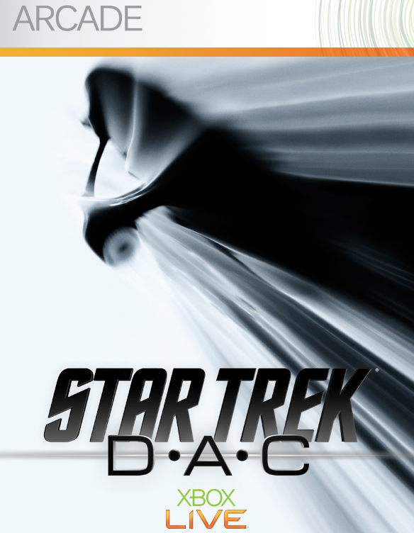The poster for the Star Trek: D-A-C video game for Xbox and Xbox Live