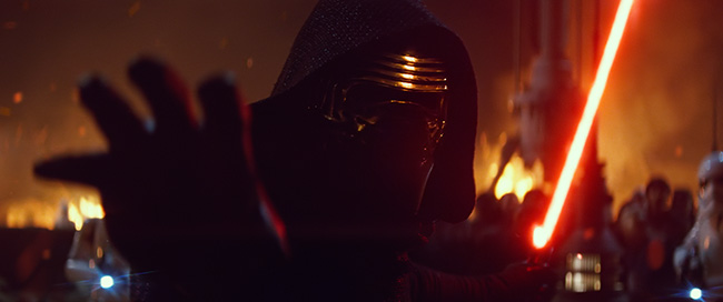 Adam Driver in Star Wars: Episode VII - The Force Awakens