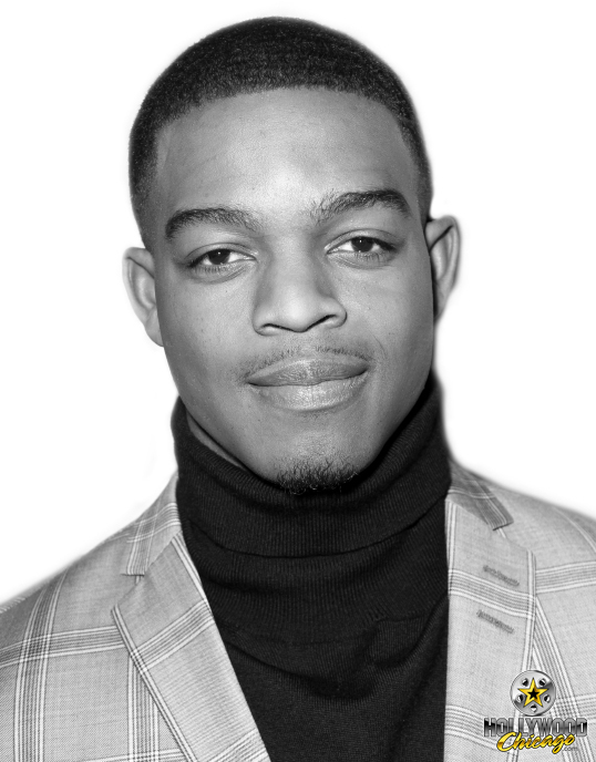 Stephan James as Jesse Owens at the Chicago red-carpet premiere of Race